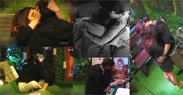 bigg boss 15 miesha iyer ieshaan sehgaal get intimate in show