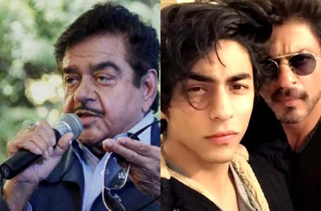 shatrughan sinha say shahrukh khan is reason why aryan khan targeted