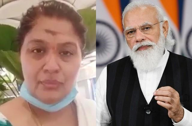 sudha appeal to pm modi over stopping at airport by cisf for artificial limb