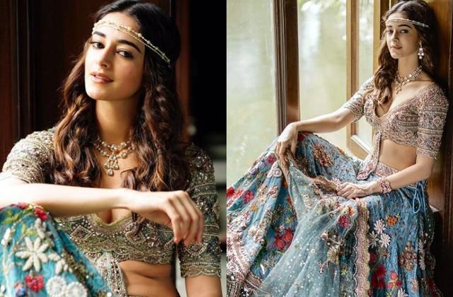 ananya pandey shares her gorgeous photos in lehenga look
