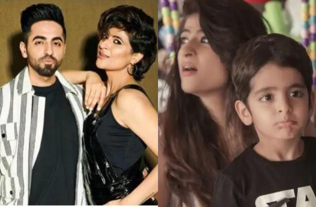 when ayushmann khurrana wife tahira kashyap forgot her son at a restaurant