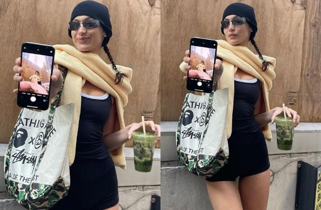 bella hadid shares her cool photos