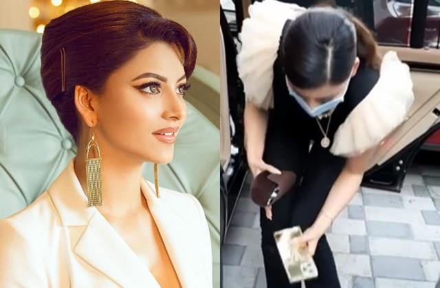 urvashi rautelas iphone 13 fell on road actress shocked