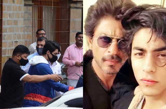 shah rukh khan son aryan khan reaches arthur road jail