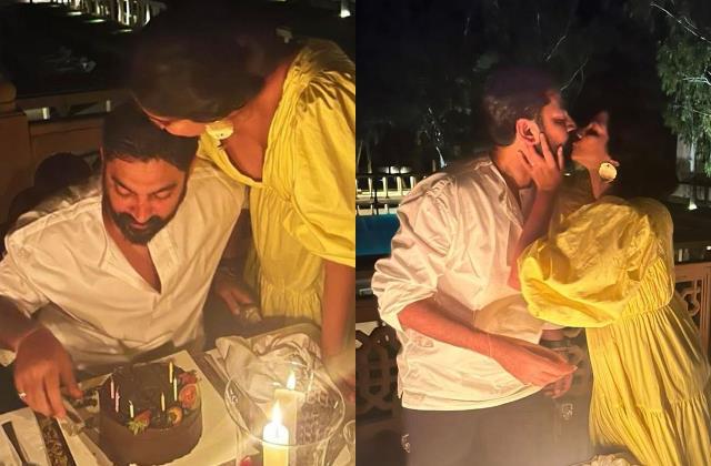 rhea kapoor share romantic photos from hubby karan boolani birthday celebration