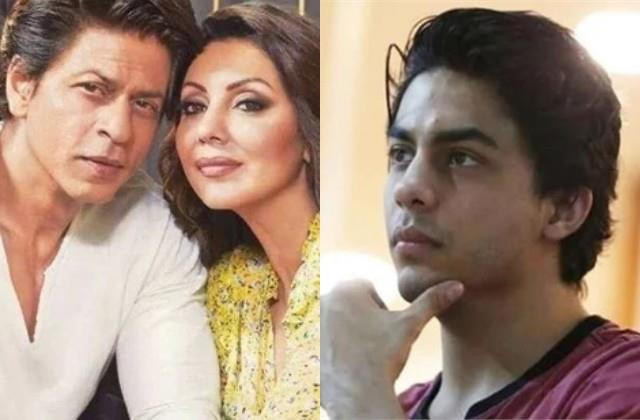 aryan khan talked to gauri and shahrukh on video call from arthur road jail