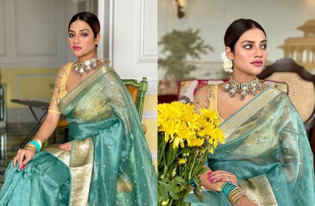 nusrat jahan looks beautiful in her latest photoshoot