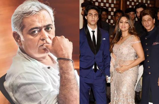 hansal mehta support shahrukh says its painful for parent to see child trouble