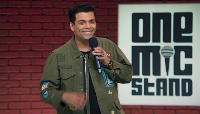 karan johar shares his experience on performing in one mic stand 2