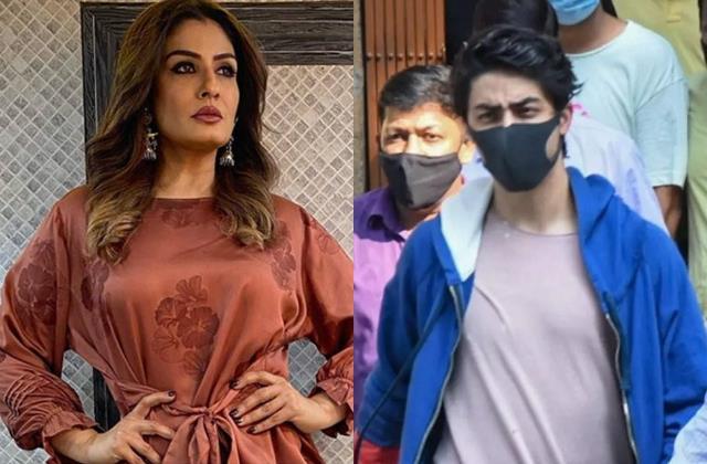 raveena tandon calls aryan khan arrest shameful
