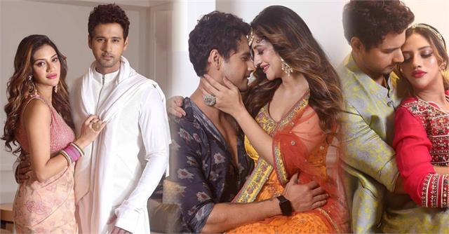 tmc mp nusrat jahan yash dasgupta romantic photoshoot pictures viral