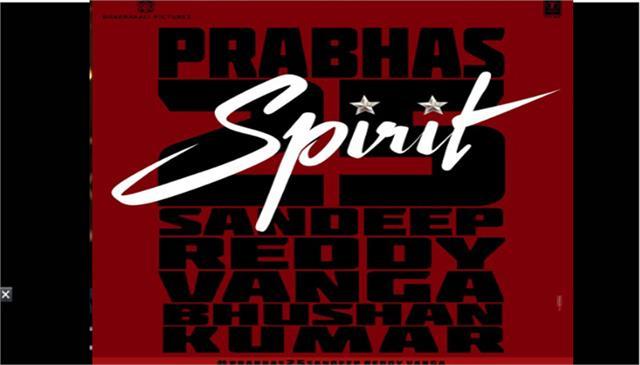 prabhas joins hands with bhushan kumar and sandeep reddy