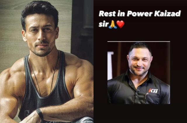 fitness trainer kaizzad capadia passes away tiger shroff pay condolences
