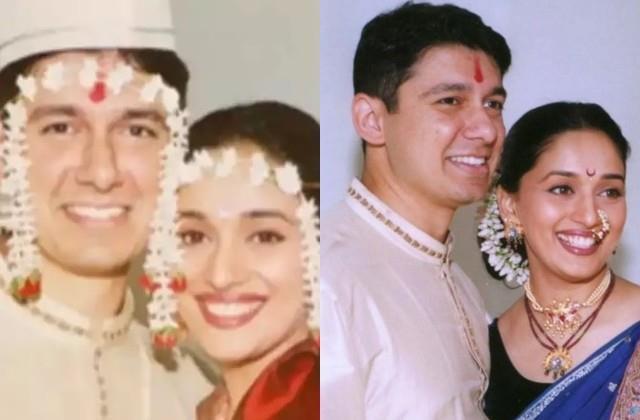 madhuri dixit and sriram nene completes 22 years of marriage