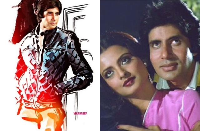 amitabh bachchan share his throwback pictures