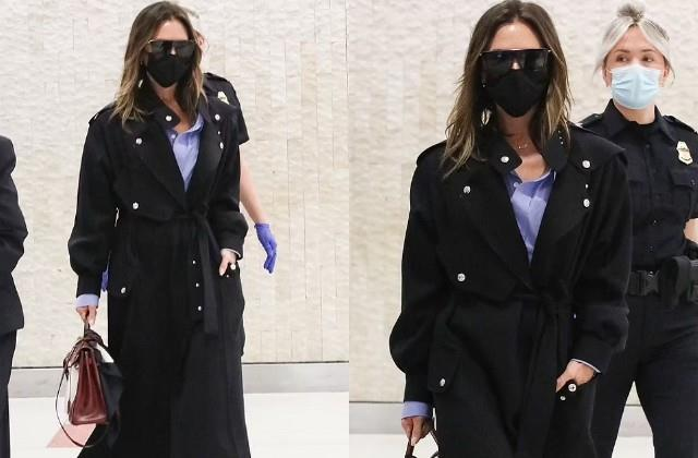 victoria beckham spotted in new york