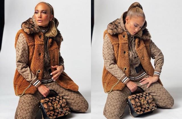 jennifer lopez shares her stylish photos