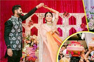 singer parmish verma geet grewal mehendi and jaggo night pictures