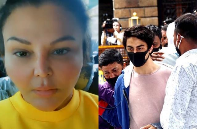 rakhi sawant comes out in support of srk son aryan khan