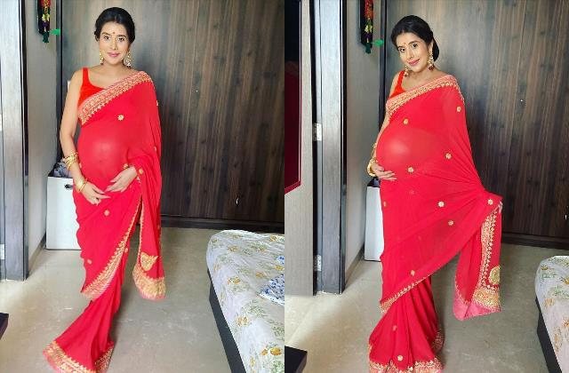 sushmita sen sister in law charu asopa flaunt baby bump in latest pictures