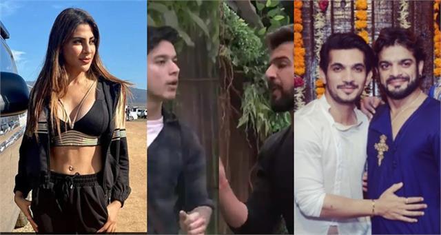 bigg boss15 weekend ka vaar nikki tamboli fight with karan patel arjun bijlani