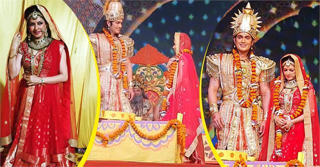 bhagyashree play  sita  role in ayodhya ramlila