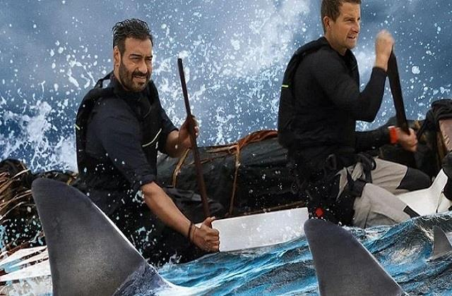 ajay devgn and bear grylls show into the wild trailer out