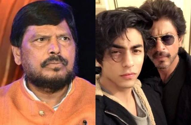 ramdas athawale advised shahrukh khan to send son aryan to rehabilitation centre