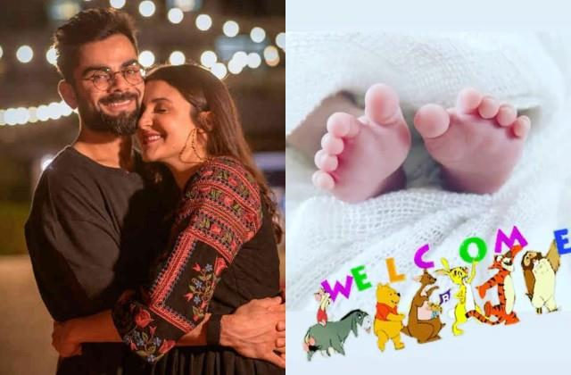 virat kohli brother vikas share first picture of anushka sharma daughter
