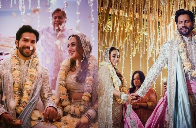 varun dhawan natasha dalal wedding pictures