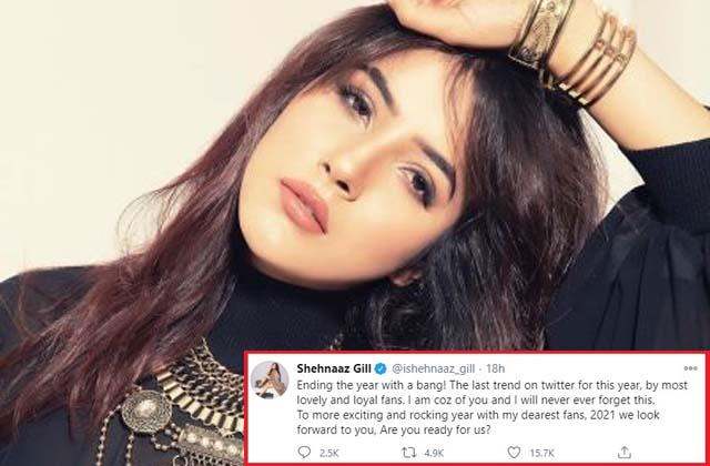 shehnaaz gill emotional post for fans