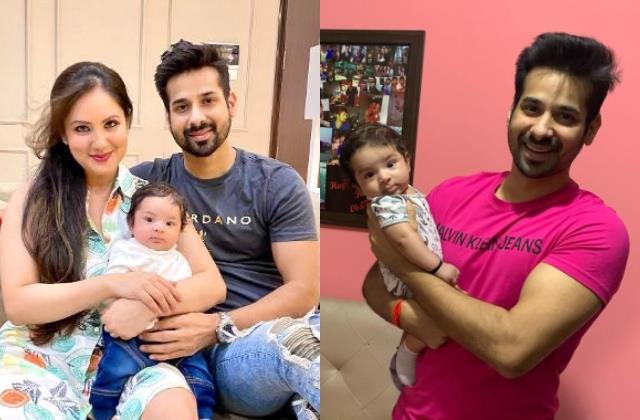 puja banerjee and kunal verma share pictures of their baby boy krishiv