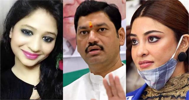 payal ghosh support renu sharma rape allegations on minister dhananjay munde