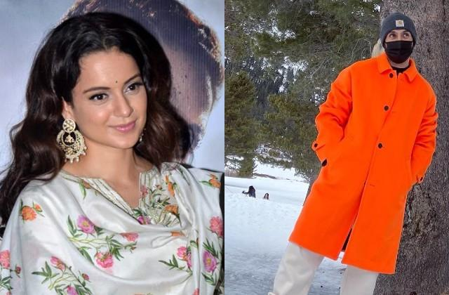 kangana ranaut comments on diljit dosanjh vacation photos