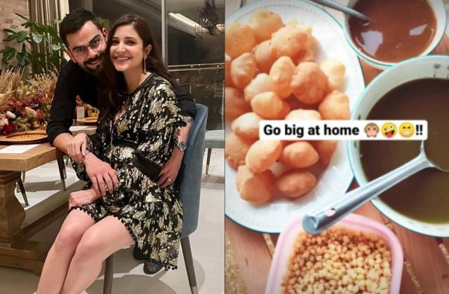 anushka sharma likes to eat golgappa in her last pregnancy days