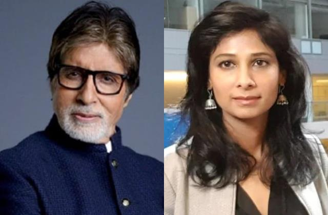users slam host amitabh bachchan over a remark made on economist gita gopinath