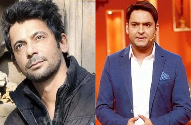 sunil grover cannot get angry with kapil sharma
