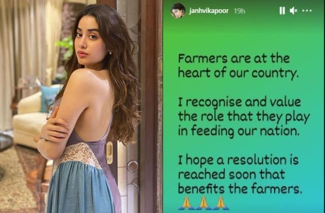 janhvi kapoor film good luck jerry shooting in punjab stop by farmers