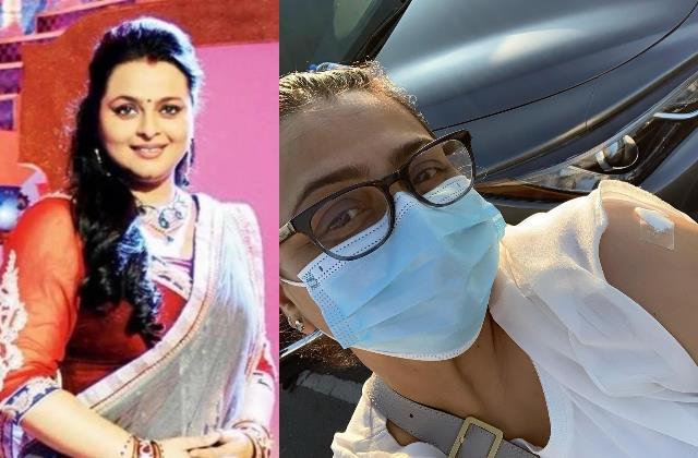 actress shilpa shirodkar gets vaccinated covid 19 uae
