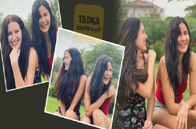katrina kaif shares photo with sister isabelle kaif and wishes happy new year