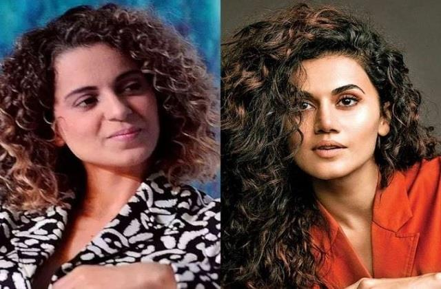 taapsee pannu reacts on kangana ranaut tweets
