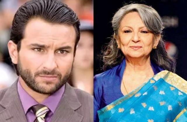 saif ali khan mother sharmila tagore health affected due to tandav controversy