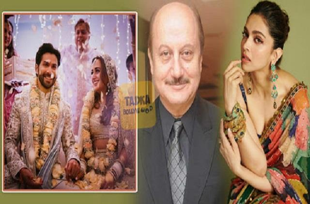 deepika to anupam wishes to varun dhawan and natasha dalal for marriage