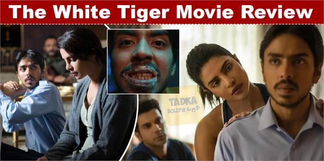 movie review of priyanka chopra and rajkummar rao film the white tiger