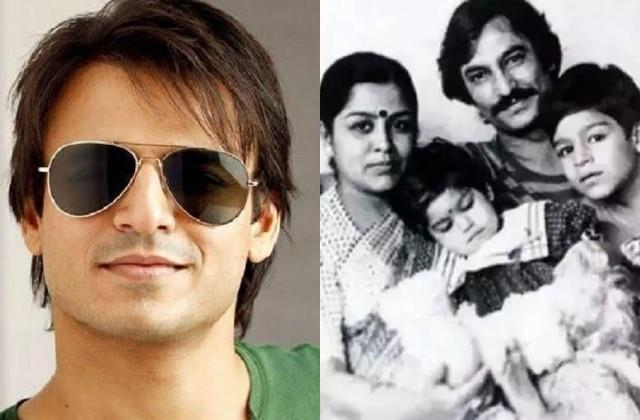vivek oberoi shares throwback photo with family