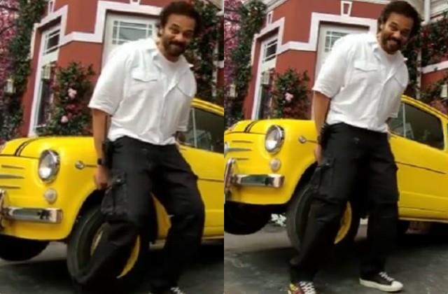 Video: रोहित शेट्टी ने हाथों से उठाई गाड़ी, बोले- ये है देसी घी और घर के खाने का कमाल