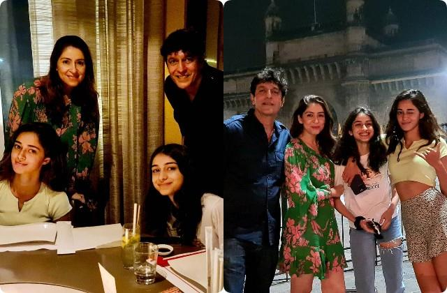 ananya pandey spending quality time with family