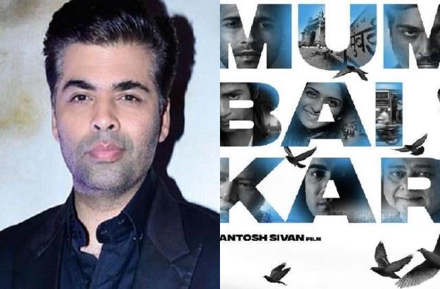 karan johar shares first poster of film mumbaikar on new year