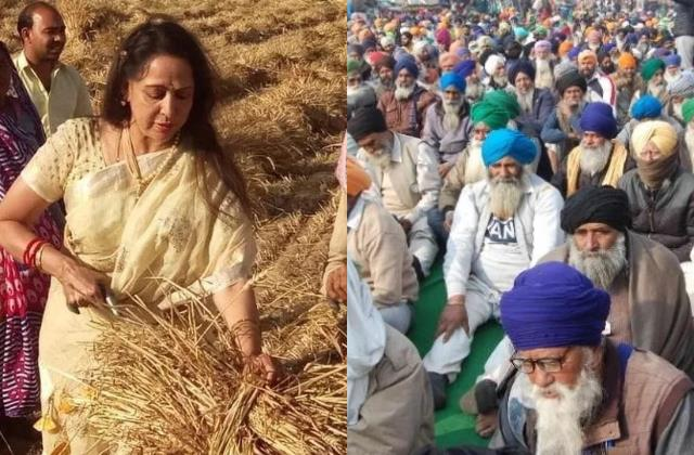 hema malini said protesting farmers do not even know what they want