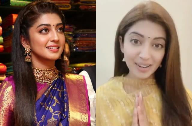 pranitha subhash contribute 1 lakh rupees for construction of shri ram temple
